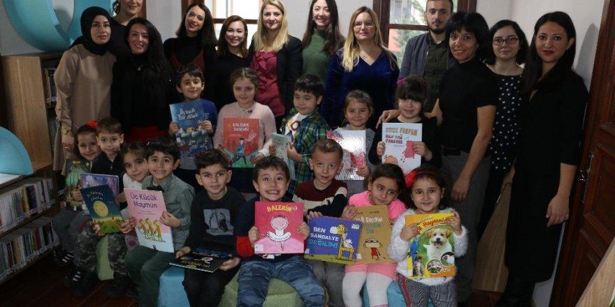 """Kartal'da """"Eğlenceli Çocuk Kütüphanesi"""", Kapılarını İlk Kez, Kreş Öğrencilerine Açtı"""
