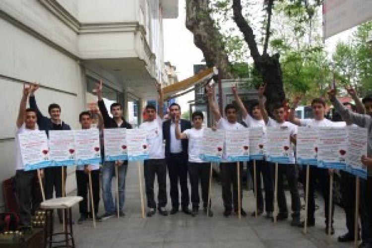 Ülkücü gençlerden 'Kutlu Doğum Haftası' etkinliği