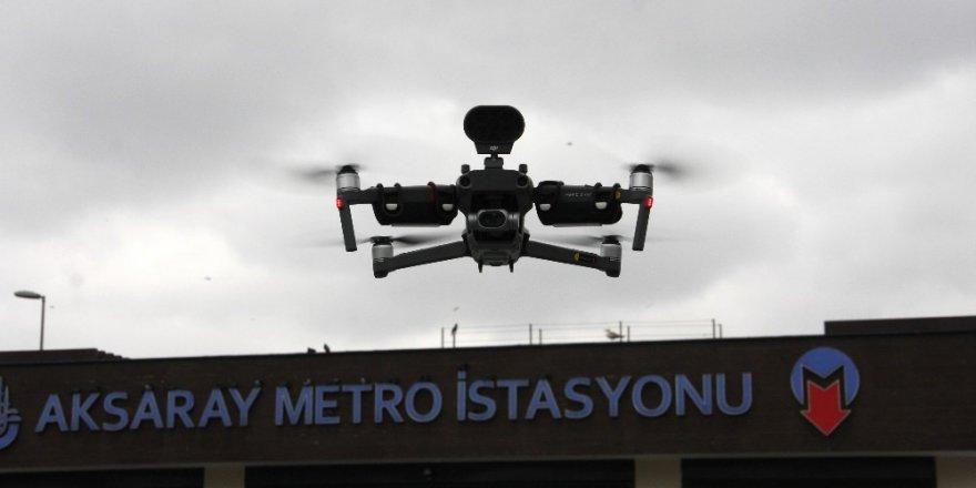 Polisten Vatandaşlara Drone İle Çağrı
