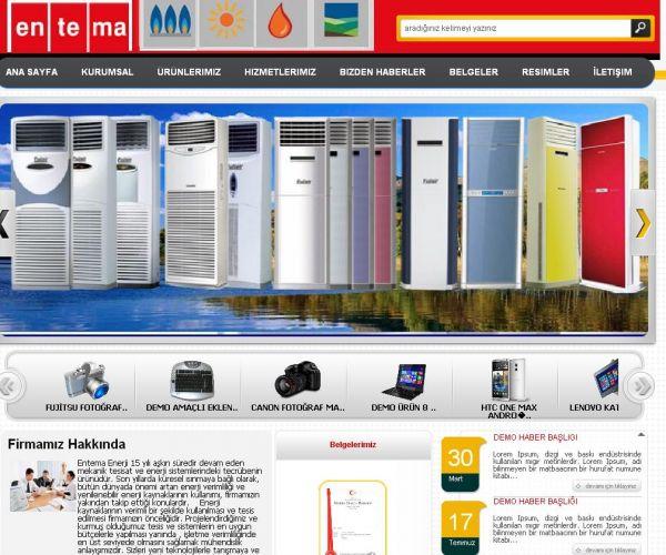 Bilgi Tasarım Kurumsal Firma Sitesi v2 Yayında
