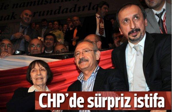 Emrehan Halıcı partisinden istifa etti