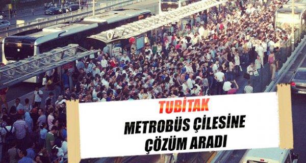 Tubitak, metrobüs sorununa el koydu