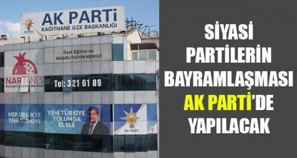 Siyasi Partilerin Bayramlaşması Ak Parti'de Yapılacak
