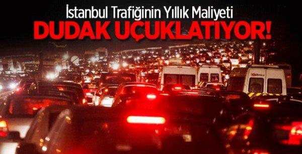 İstanbul trafiği dudak uçuklatıyor