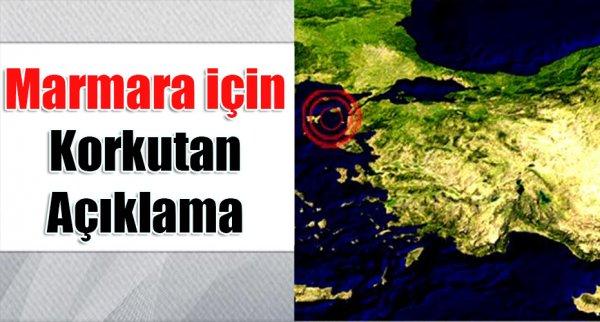 Marmara için kırmızı alarm