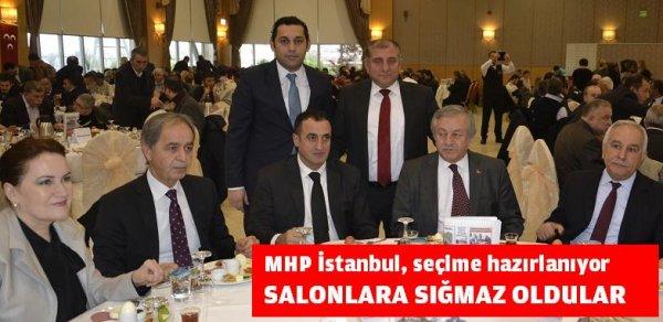 MHP İstanbul, seçime hazırlanıyor
