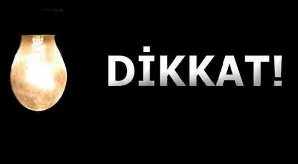 İstanbul'da 3 gün elektrik kesintisi işte o ilçeler...