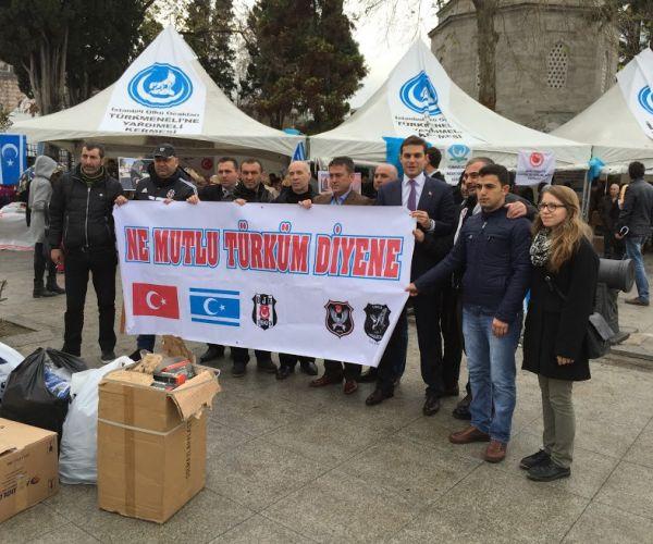 Ülkü Ocaklarının Türkmenlere Yardım Kermesi Sona Erdi