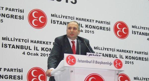 MHP İstanbul İl Kongresi'ne yoğun ilgi