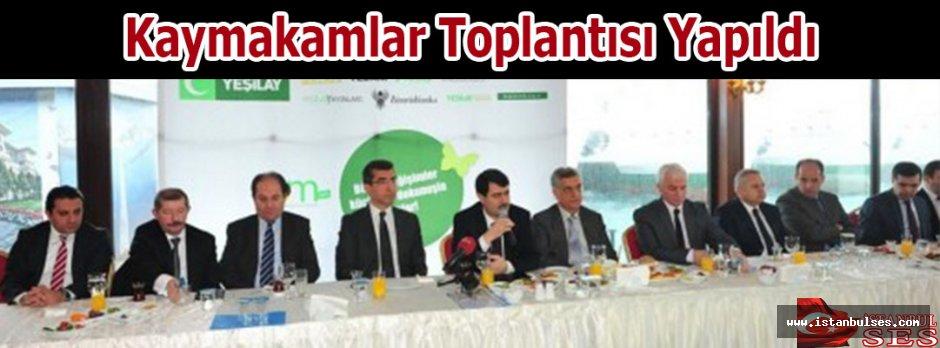 Kaymakamlar Toplantısı Yeşilay'da yapıldı