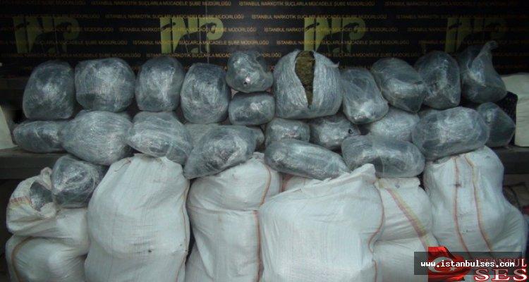 İstanbul Narkotik Şubesi 2014 Bilançosunu Açıkladı