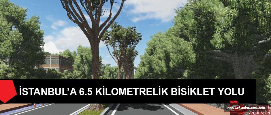 İstanbul'a 6.5 Kilometrelik Bisiklet Yolu