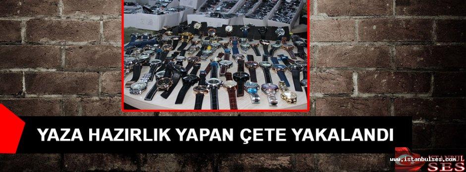 Gümrük Kaçağı Güneş Gözlükleriyle Yaza Hazırlık Yapan Çete Yakalandı