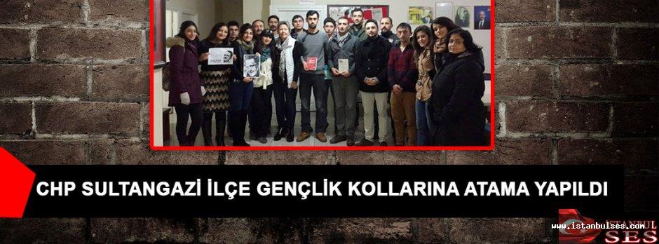 CHP Sultangazi İlçe Gençlik Kollarına Atama Yapıldı