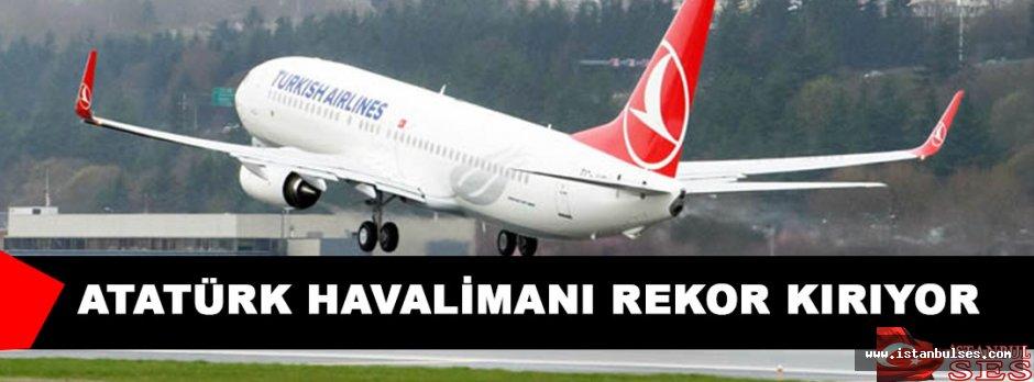 Avrupa'nın 4. Büyük havalimanı: Atatürk Havalimanı
