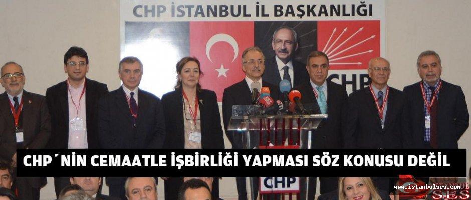 """KARAYALÇIN: """"CHP'NİN CEMAATLE İŞBİRLİĞİ YAPMASI SÖZ KONUSU DEĞİL"""""""