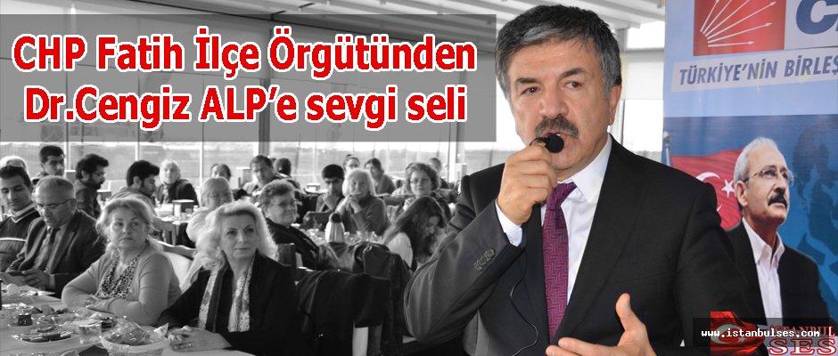 CHP Fatih, Dr. Cengiz Alp'i meclise yolluyor