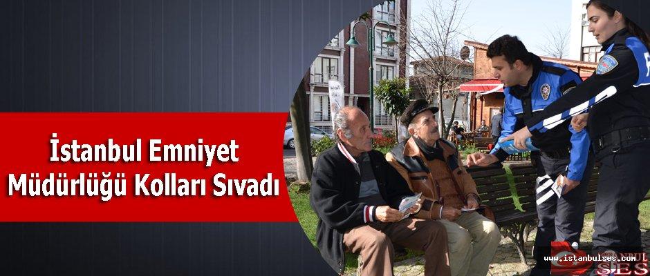 İstanbul Emniyet Müdürlüğü Kolları Sıvadı