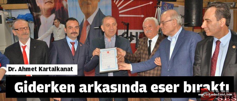Dr. Ahmet Kartalkanat, Giderken arkasında eser bıraktı