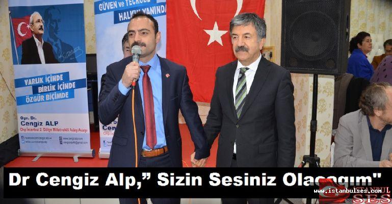 """Dr Cengiz Alp,"""" Sizin Sesiniz Olacagım"""""""