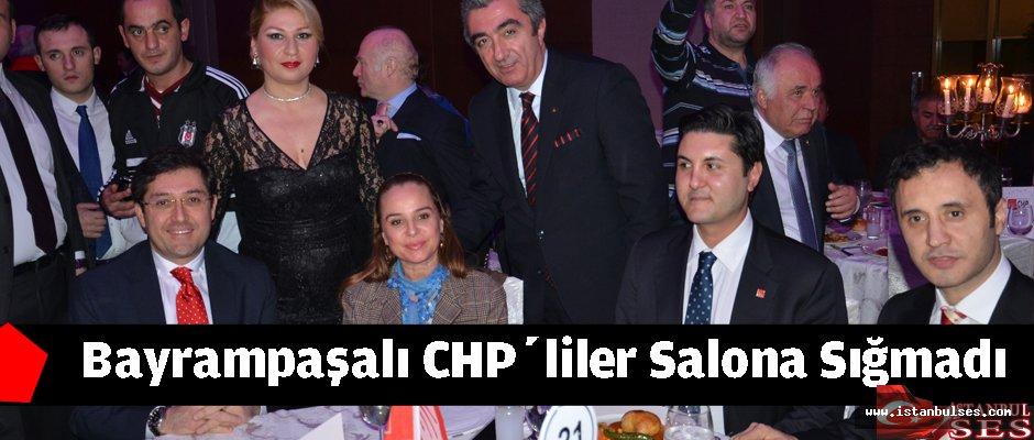 Bayrampaşalı  CHP'liler salona sığmadı