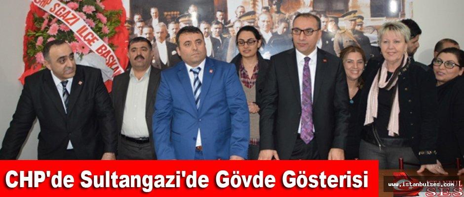 CHP'de Sultangazi'de Gövde Gösterisi