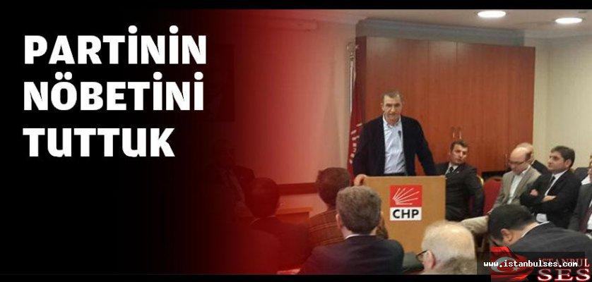 """Yüksel Mansur Kılınç:"""" Partinin nöbetini tuttuk"""""""