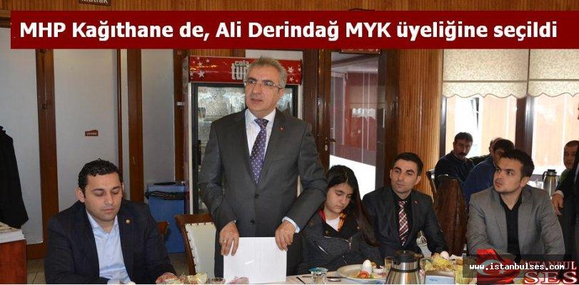 MHP Kağıthane de, Ali Derindağ MYK üyeliğine seçildi