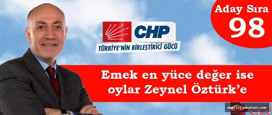 """Av. Zeynel Öztürk,"""" Emek en yüce değer ise, desteklerinizi bekliyorum"""""""