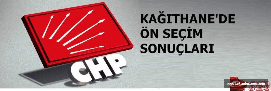 CHP Kâğıthane'nin, ön seçim sonuçlarının tam listesi