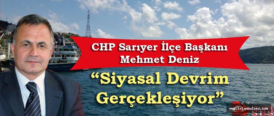 """Mehmet Deniz: """"Siyasal Devrim Gerçekleşiyor"""""""