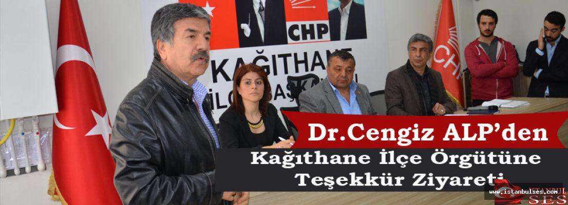 Dr.Cengiz Alp'den, Kağıthane ilçe örgütüne teşekkür ziyareti
