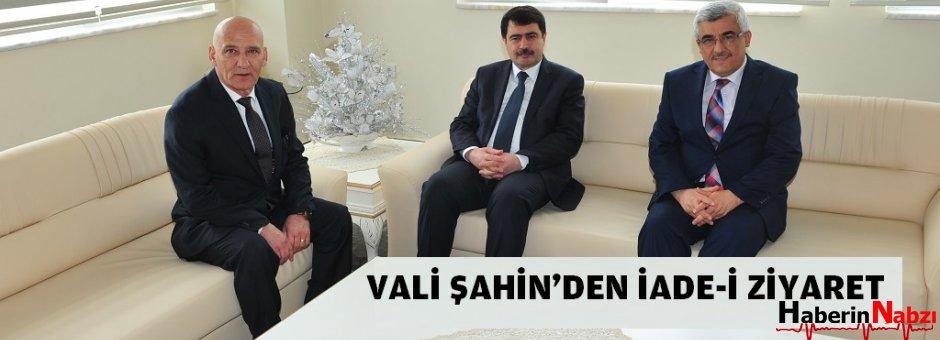 İstanbul Valisi Vasip Şahin'den,  iade-i ziyaret