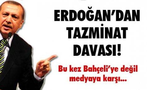 Erdoğan'dan tazminat davası!
