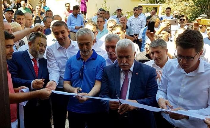 Başkan Fazlı Kılıç, Sivas Atalan Köyünde