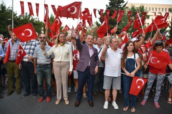 SİLİVRİ'DE ZAFER COŞKUSU