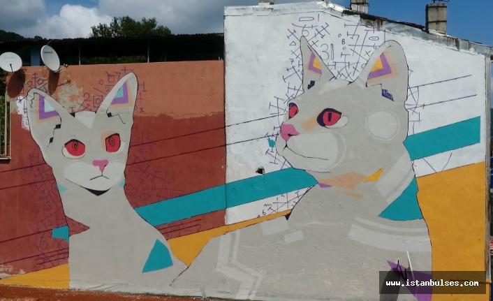 Sarıyer'in Duvarları Rengarenk