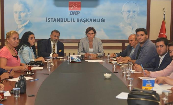 CHP İstanbul İl Başkanlığı,  Hukuk Komisyonu kurdu