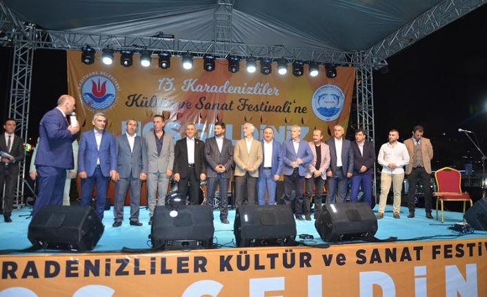 İstanbul Karadenizliler Festivali Başladı