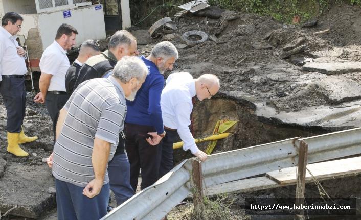 Beykoz sel mağdurlarına yardım eli