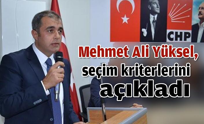 """Mehmet Ali Yüksel, """" Yerel seçimde tavrım ve duruşum olacaktır"""""""