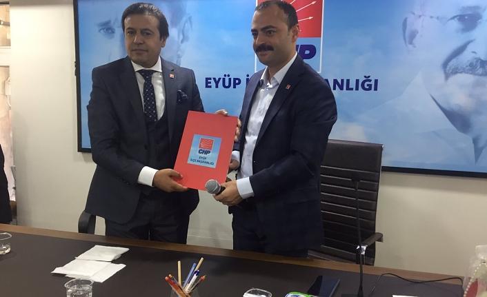 Emin Atmaca Eyüpsultan'da,   Belediye başkan aday adayı oldu