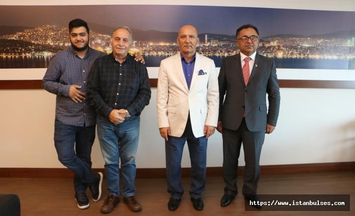 CHP Fransa Lyon Birliği Başkanından Kartal'a Ziyaret