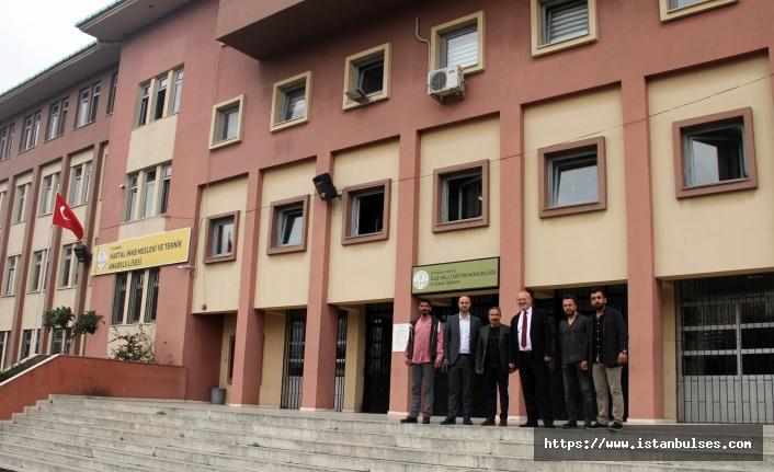 Kartal'daki okullar rahat bir nefes alıyor
