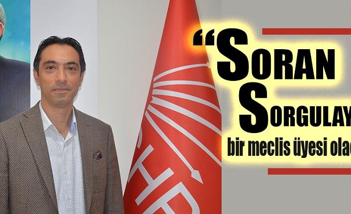 """Aykut Öztürk, """"Soran ve sorgulayan bir meclis üyesi olacağım"""""""