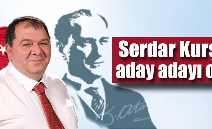Serdar Kurşun Şişli'den belediye başkan aday adayı oldu
