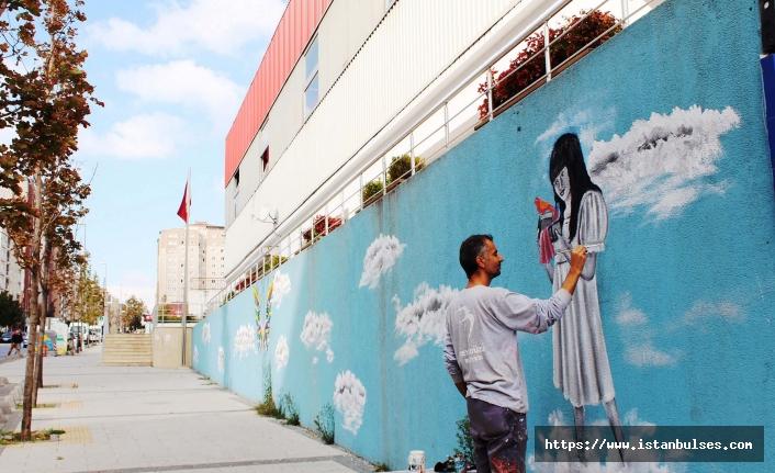 Beylikdüzü'nde Trafo Binaları Sanat Eserine Dönüşüyor