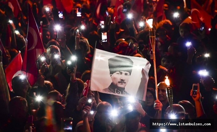 Beylikdüzü'nde 29 Ekim Cumhuriyet Bayramı coşkusu