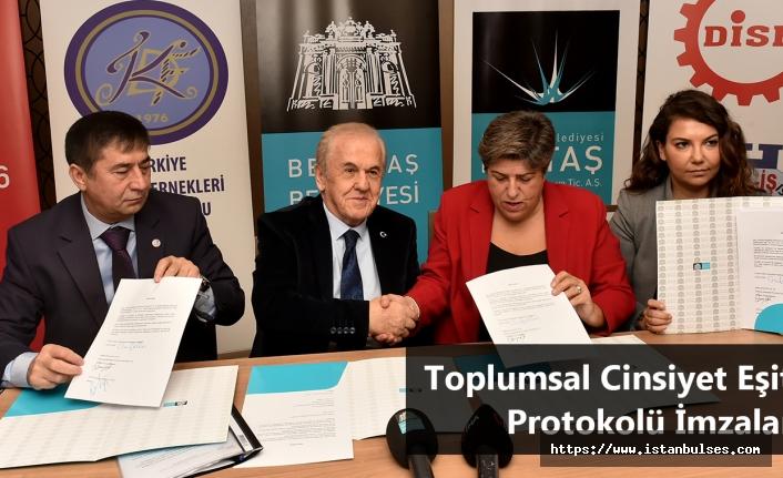 Beşiktaş'ta Toplumsal Cinsiyet Eşitliği Protokolü İmzalandı