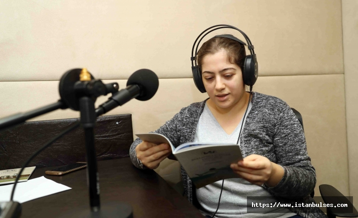 Anneler Görme Engelli Çocukları İçin Kitap Seslendirdi